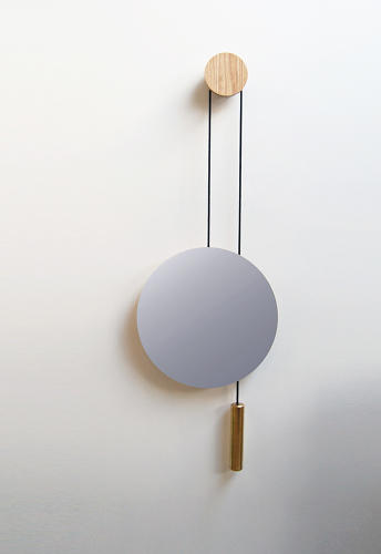 <p>This allows you to adjust its height with a tug, and thanks to the counterbalance, the mirror will hover in its new place.</p>