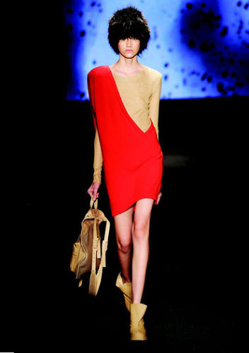 <p>His fire-inspired fashions debuted on the runway in January; they'll hit stores later this year.<br /> Courtesy of Orkar Metsavaht</p>