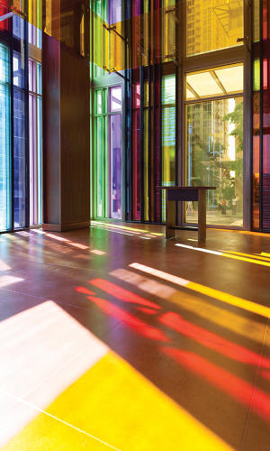Seattle Church Gets A Bright Modern Twist On Stained