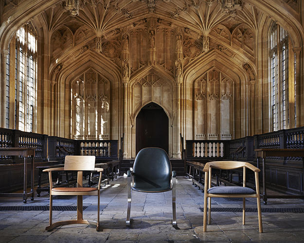 <p>The Bodleian Libraries at the University of Oxford have housed precious literature and scholarly documents for the past 400 years. It's a special place, with its own special chairs--and over those last four centuries, only three chair designs have graced the Bodleian's halls.</p>