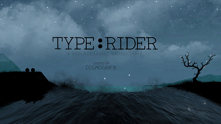 <p><em>Type:Rider</em> is a new game for iOS and Android that makes typographic history into a Mario-style platformer.</p>