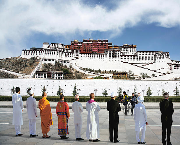 <p>It's 2050 and the world is still kicking: environmentalist Sir Jonathan Porritt's new book, <em>The World We Made</em>, imagines what the future will look like if humanity gets with the eco program. Here, religious leaders at the signing of the &quot;Lhasa Declaration&quot; in 2022, which offered three simple mandates: &quot;Show reverence for the Earth,&quot; &quot;Give service to others,&quot; and &quot;Practice simplicity in living.&quot;</p>