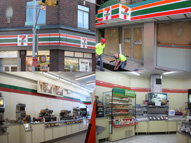 <p>This was the look of 7-Eleven before. What a dump, huh?</p>