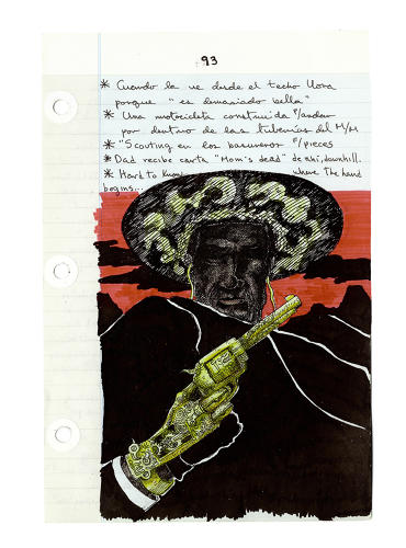 <p>Del Toro created this sketch for his <em>Left Hand of Darkness</em> adaption of <em>The Count of Monte Cristo</em> that he undertook after his father was kidnapped in 1997.</p>