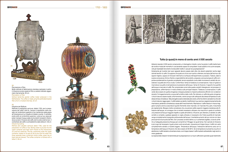 <p>A refined and valuable samovar from 1795. Spanning 400 years of history, with 2,700 images, 2,080 technical descriptions, 220 advertising posters, and 60 technical drawings, the book is staggering in scope and detail. Only highly caffeinated people could have written it.</p>