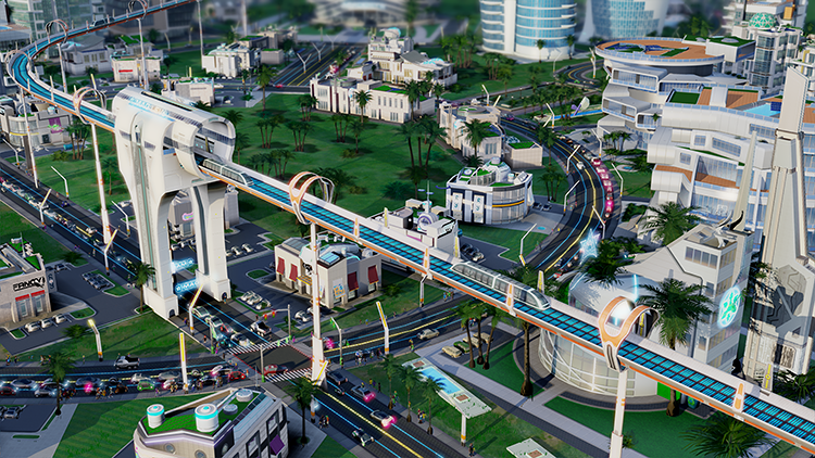 <p>Librande's vision for the future is being realized as part of Cities of Tomorrow, an upcoming expansion pack for the recently rebooted city-building simulation.</p>
