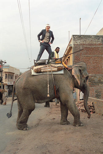 <p>Even so, <em>The Wes Anderson Collection</em> excels as a thorough study behind its notoriously idiosyncratic subject. Fans shouldn't do without it.</p>  <p>Above: Owen Wilson on elephant, on the set of <em>The Darjeeling Limited</em>.</p>