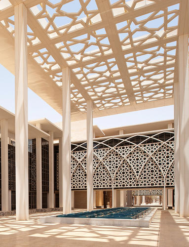 <p>Design firm Perkins+Will was tasked with unifying three existing campuses for women in Riyadh into one large campus.</p>