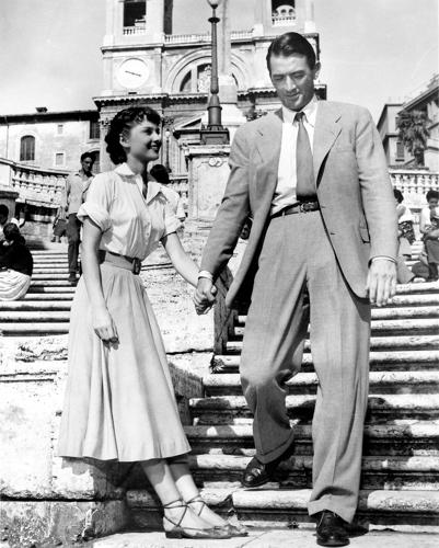 <p>Audrey Hepburn in <em>Roman Holiday,</em> styled by Edith Head.</p>