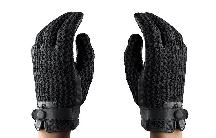 <p>The company's first touch-screen-compatible gloves came out two winters ago. They use conductive fibers that communicate with capacitive screens, so that no one needs to shed their gloves to send a text message.</p>