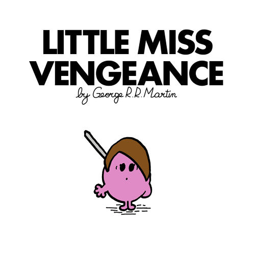 <p>Little Miss Arya Stark</p>