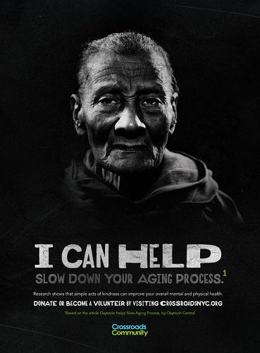 <p>The Saatchi team decided to flip the narrative. &quot;The idea became that it's more about the giver than the homeless person,&quot; she says.</p>
