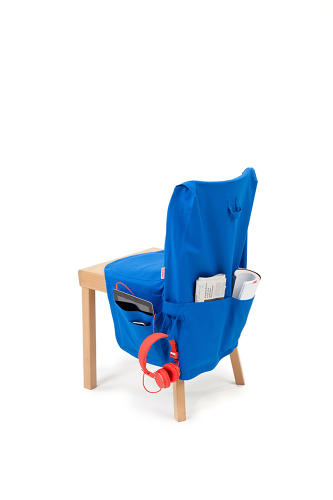 <p>The Triennial chair features a few discrete pieces of upholstery. Chair Wear takes the idea further--it's clothing for chairs.</p>