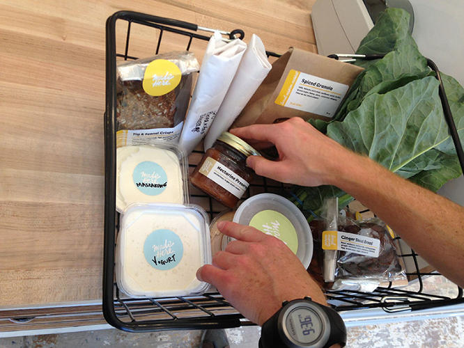 <p>At San Francisco's Local Mission Market, every ingredient in every item comes from a maximum of 90 miles away.</p>