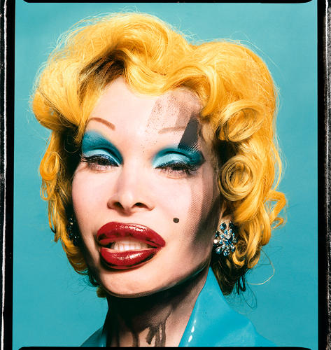 <p>In his new hair-art bible, <em>Hair: Fashion and Fantasy,</em> legendary stylist Phillipon chronicles the history of every 'do imaginable, from the Mohawk to the conk to Farrah's feathery layers. Here, Amanda Lepore as Andy Warhol's Marilyn, with hair by Philippon.</p>