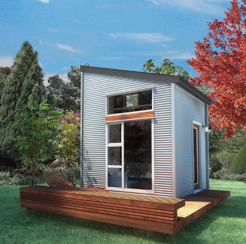 <p>The Nomad Micro Home is a sustainable tiny house kit that is lightweight enough to ship anywhere in the world.</p>