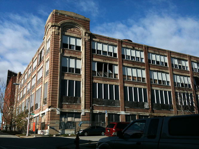 <p>The building, which sits at a central corner of a transitioning city neighborhood, had been vacant for decades.</p>