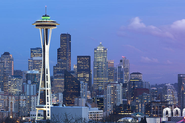 <p>The 10 smartest cities in North America. 1: Seattle</p>