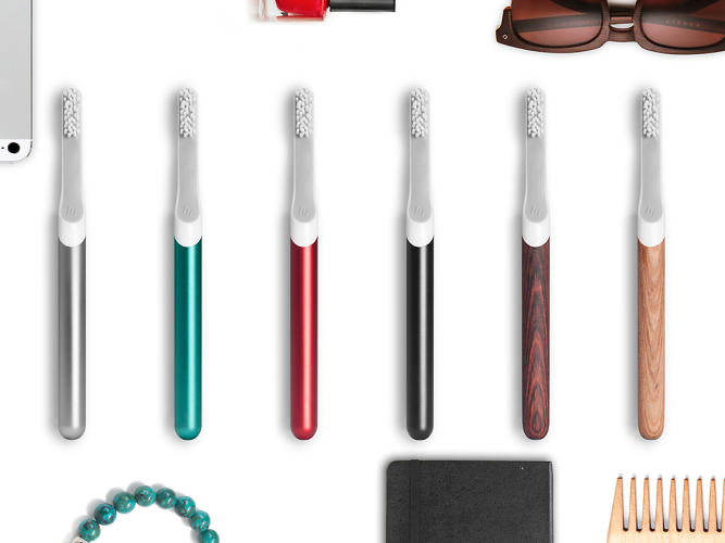<p>Introducing the toothbrush by Default, a fledgling company led by a former fuseproject designer.</p>