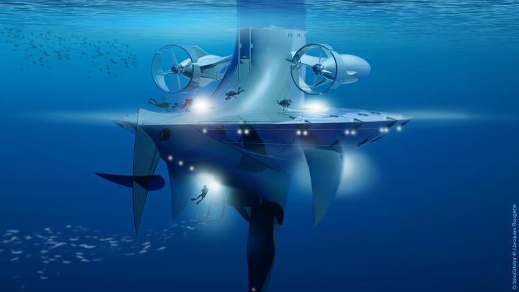 <p>It's the Starship Enterprise of the sea, exploring parts of the ocean where no man has gone before.</p>