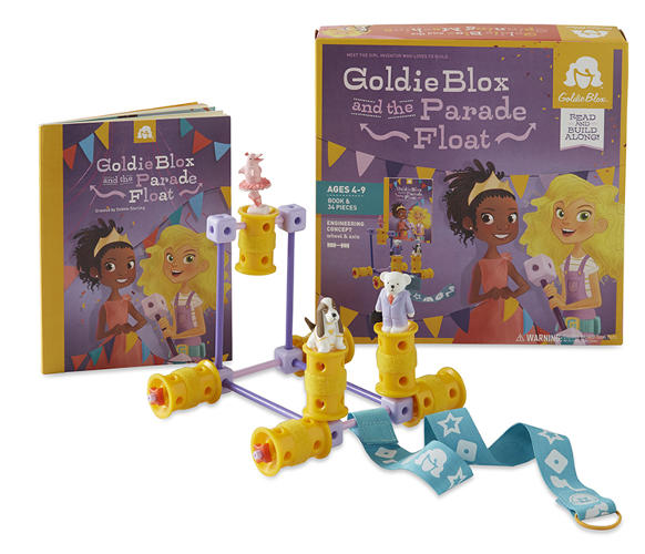 <p>GoldieBlox sets are now available across North America. They're in Toys R' Us, hundreds of independent retailers, and on Amazon.com, where they rank as some of the best-selling toys.</p>