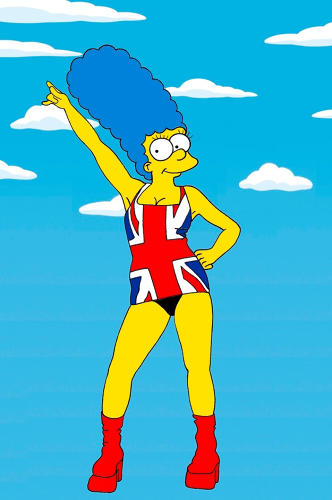 <p>As Geri Halliwell</p>
