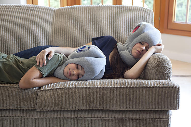 <p>The impossibly silly <a href=&quot;http://www.fastcodesign.com/3018933/wanted/wanted-the-worlds-goofiest-sleeping-device-is-now-for-kids-too&quot; target=&quot;_self&quot;>Ostrich Pillow</a> debuted for kids this year. Get a micro-version for $75, <a href=&quot;http://www.studiobananathings.com/&quot; target=&quot;_blank&quot;>here</a>.</p>