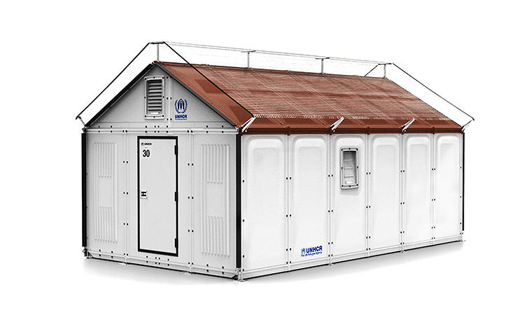 <p>Today, the best shelter we can usually offer the world's tens of millions of refugees is a tent. So Ikea <a href=&quot;http://www.fastcoexist.com/1682416/a-new-ingeniously-designed-shelter-for-refugees-made-by-ikea&quot; target=&quot;_self&quot;>has designed</a> a cheap, solar-powered hut that only takes four hours to assemble but offers refugees more protection and privacy.</p>