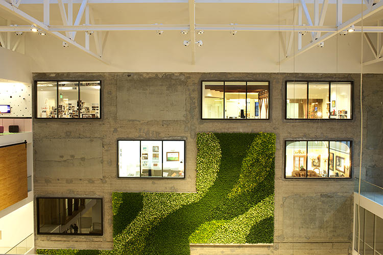 pfor the new offices the company renovated a century old warehouse airbnb office design san
