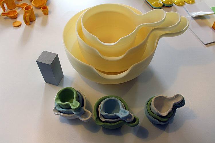 <p>After Jensen shaped all the models in clay, engineer Jens Knudstup Trolle scanned and digitized the shapes, working closely with Jensen to translate their handmade expression into the final industrial pieces.</p>