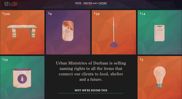 <p>The priciest naming rights sold so far cost $1,250 for the stove, while the most popular items are crayons, light bulbs, pacifiers, and toilet paper.</p>