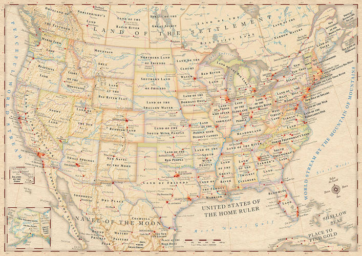 <p>Would you rather live in Marsh Farm Land or Washington? The Land Of The People With Dugout Canoes or Missouri? The United States Of The Home Ruler, or the U.S. of A? If these other, more literal names sound pretty good to you, check out this map showing the <a href=&quot;http://www.fastcodesign.com/1672882/infographic-the-literal-meaning-of-every-state-name-in-the-us&quot; target=&quot;_self&quot;>literal name of every state in the U.S.</a></p>