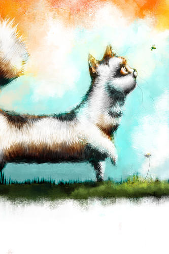 <p>Chalky is the feline protagonist in a new bedtime story being created by a team of designers in Belfast, Ireland.</p>