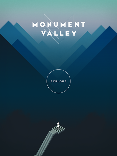 <p>Monument Valley is a rarely considered iPad app, coming in 2014.</p>