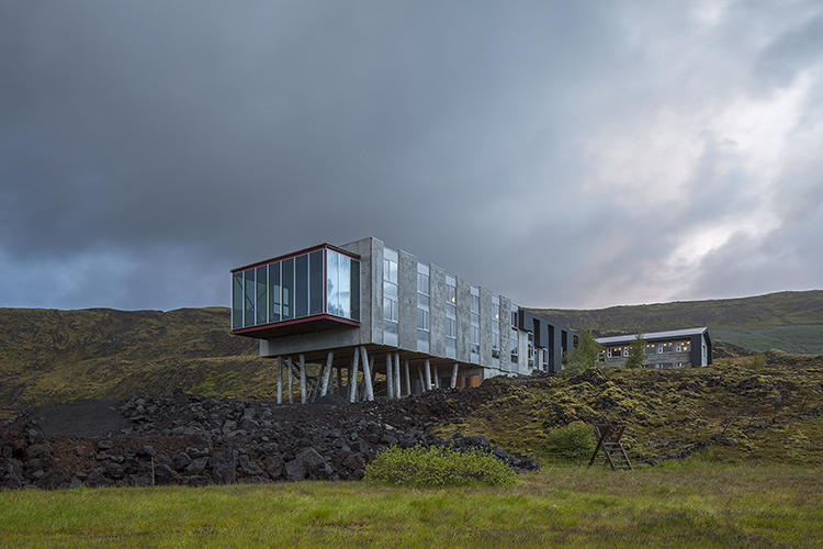 <p>Folks, it's time to take a vacation. This gorgeous little resort set into Iceland's lava fields is too much to resist.</p>