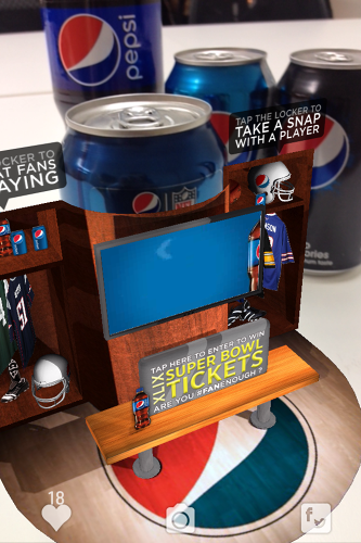 <p>In total, this U.S. campaign will span 19.5 million cans, and they'll feature instructions on how to &quot;blipp&quot; Pepsi products to summon interactive elements.</p>
