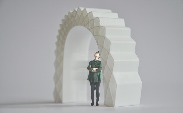<p>KamerMaker, or &quot;room maker,&quot; is a project from Amsterdam's DUS Architects. Back in March, they started 3-D printing an entire, <a href=&quot;http://www.fastcodesign.com/1672136/this-expanding-house-builds-itself&quot; target=&quot;_self&quot;>full-sized canal house</a>, one room at a time, using exploratory materials like potato starch.</p>