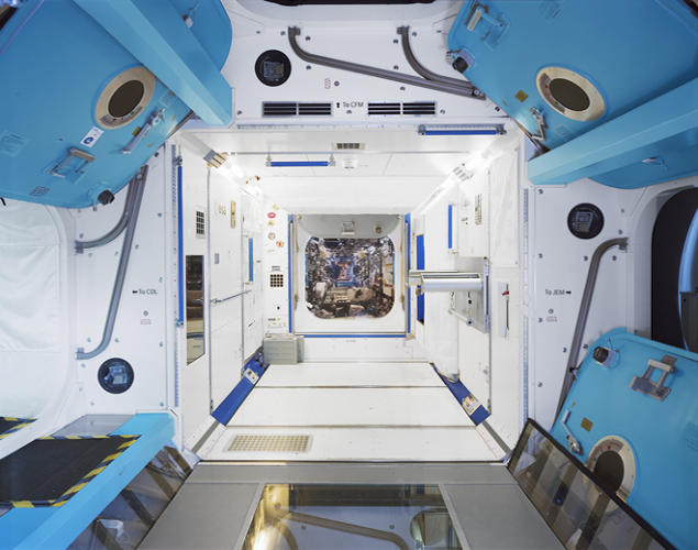 <p>ISS training simulator, European Astronaut Centre (Cologne, Germany)</p>