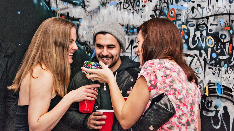 <p>BarTab integrates with the consumer-facing WillCall app so that anyone who bought a ticket through WillCall can give their name at the bar and automatically have the drink charged to their stored credit card. Faster beer lines: Yes!</p>