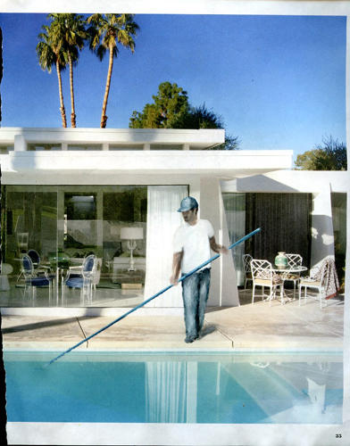 <p>His &quot;magazine paintings&quot; depict these arrangements, along with the arrangement Gomez himself worked for two years, as a live-in nanny for a wealthy West Hollywood family.</p>