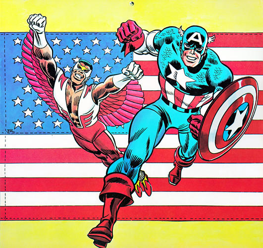 <p>July Belongs To Captain America (Who Else?)</p>