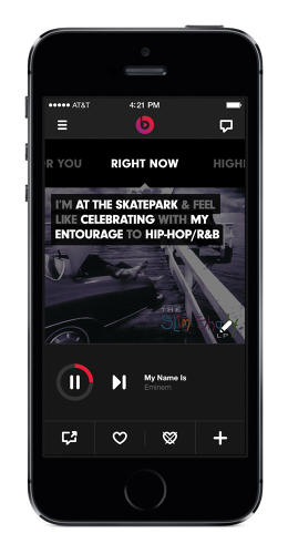<p>Rogers says there are about a million playlist combinations possible with Right Now.</p>