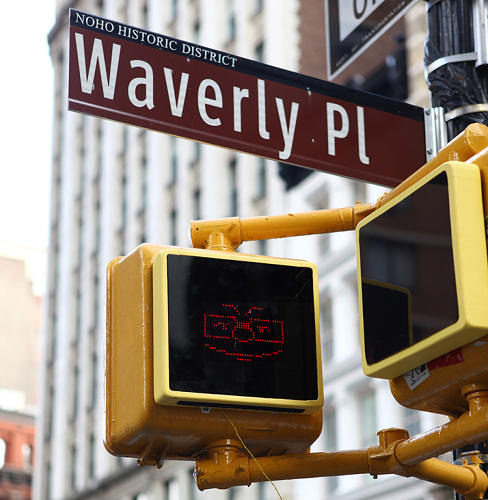 <p>A trio of NYU students is designing street signs to be more &quot;sentient&quot; with the hope that people will feel more connected to their city.</p>