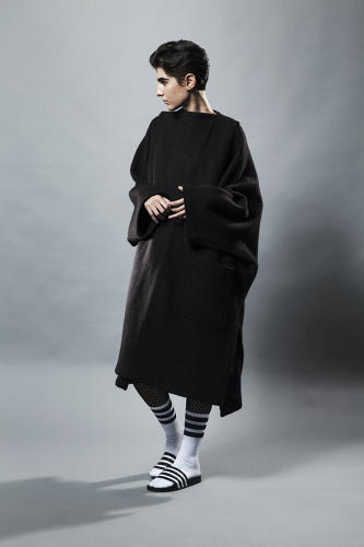 <p>An Issey Miyake coat. Byronesque launched one year ago, and in that year, designers have lauded their efforts: &quot;You are here to remind us of what we are here to do,&quot; All Saints designer Goran Pejkoski said of the site.</p>