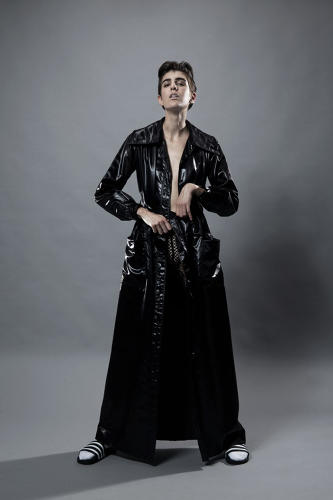 "<p>An Yves Saint Laurent Coat. ""Inspiration for the site came from a personal frustration about the banality of fashion, the rise of fast fashion, and how 'vintage' has become an abused marketing buzzword,"" Linton says.</p>"
