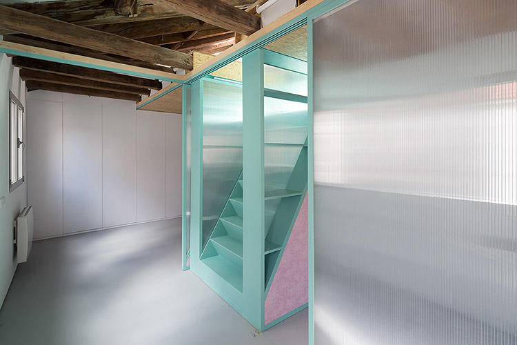 <p>If you twist a handle on the wall of one tiny Madrid apartment, furniture suddenly starts to appear: A picnic table lowers from the ceiling, and a bookcase, and a hammock.</p>