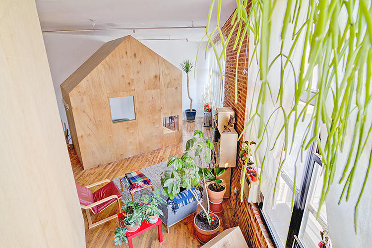 <p>Like most people, growing up, Chiao made blanket forts with tables and chairs. But she'd never had a treehouse and always wanted one.</p>