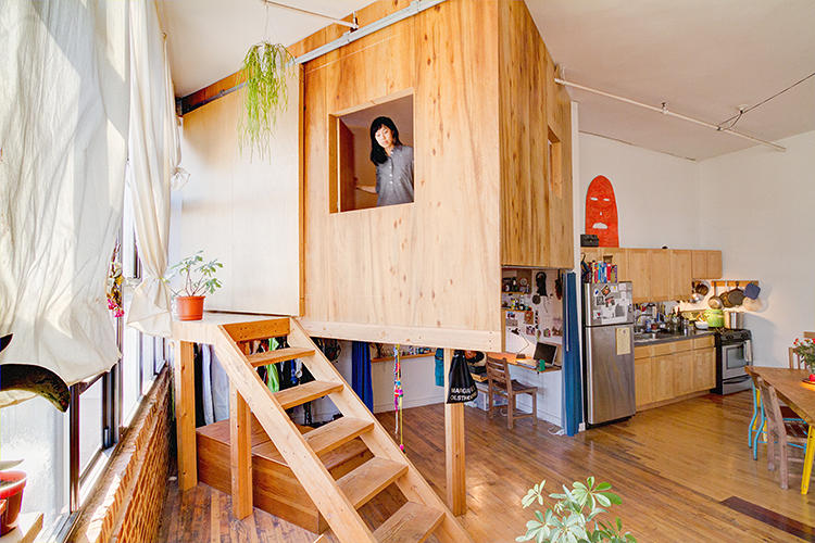 <p>Forget wall dividers or curtains for roommate situations. How about cabins and treehouses?</p>