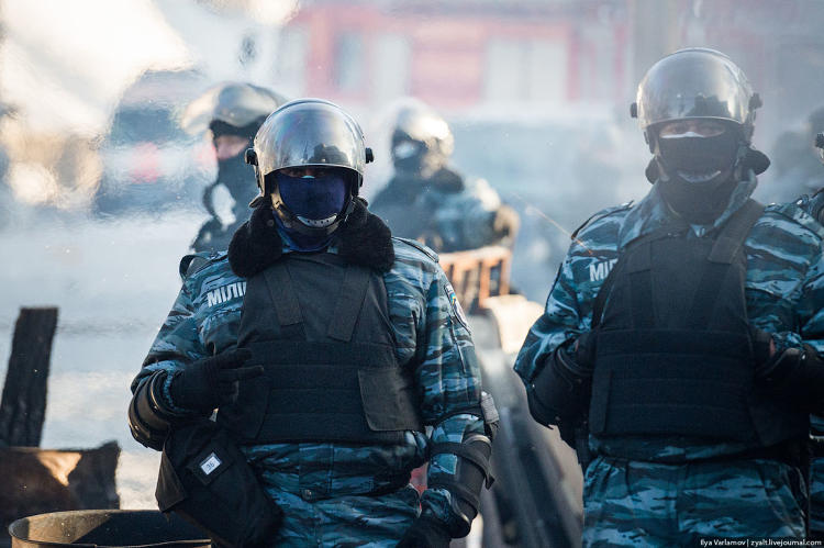 <p>&quot;Berkut fighters are not at all eager to communicate. People are really angry, tired, and very irritable. I spoke to two, both refused to be filmed or recorded. They are reluctant to communicate.&quot;</p>