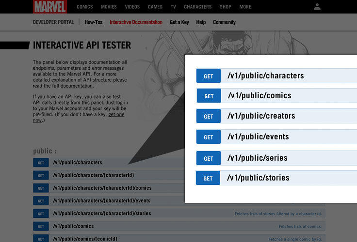 <p>The beta version allows fans to access over 30,000 comics, 7,000 series, 5,000 creators, and 70,000 stories.</p>
